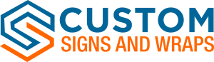 Des Plaines Custom Signs logo new symbol 300x87