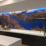Custom design wall mural