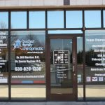 West Chicago Business Signs Copy of Chiropractic Office Window Decals 150x150