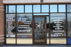 Bartlett Vinyl Signs, Wraps, & Graphics Copy of Chiropractic Office Window Decals 300x200
