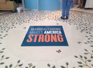 Chicago Vinyl Signs, Wraps, & Graphics floor vinyl 300x219