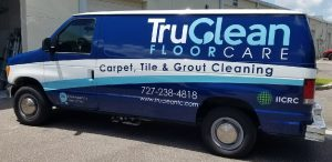 Berkeley Vinyl Printing Vehicle Wrap Tru Clean 300x146